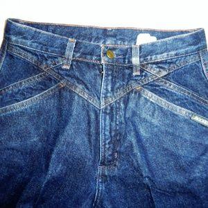 "Vintage Rocky Mountains High Waist Jeans 28""W 37""L"